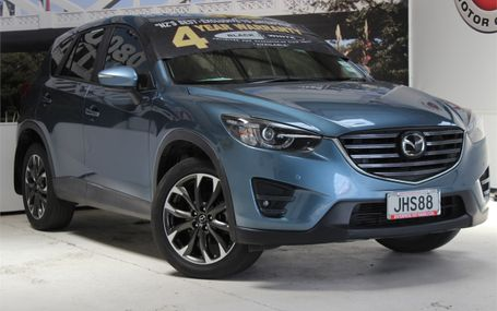 2015 Mazda CX-5 LTD DSL 2.2D/4WD/6AT Test Drive Form