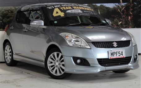 2012 Suzuki Swift RS SPORTY HATCH Test Drive Form