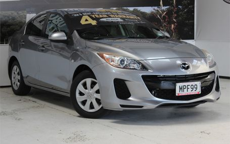 2012 Mazda Axela 15C SO POPULAR Test Drive Form