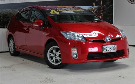 2011 Toyota Prius S LED EDITION Test Drive Form
