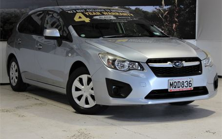 2012 Subaru Impreza 1.6I HATCHBACK Test Drive Form