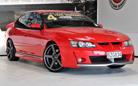 2004 Holden HSV Clubsport VY COMMODORE Test Drive Form