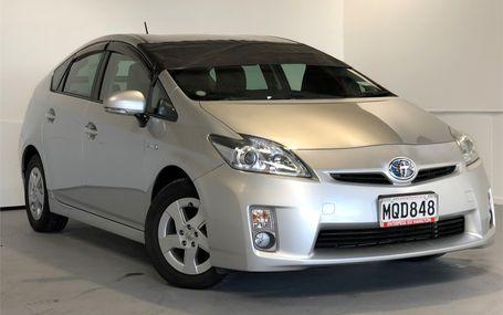 2010 Toyota Prius S HYBRID FUEL SAVER Test Drive Form