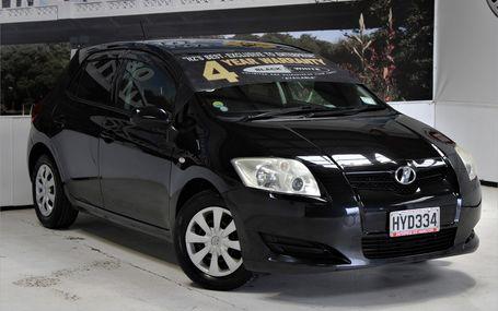 2008 Toyota Auris