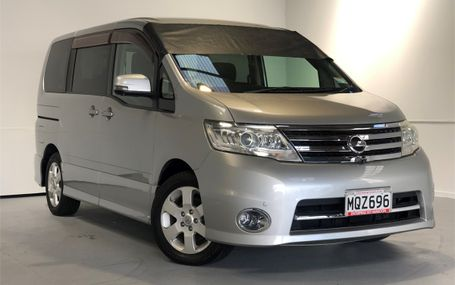 2008 Nissan Serena 8 STR HIGHWAY STAR Test Drive Form