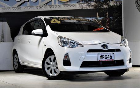 2014 Toyota Aqua HYDRID GAS SAVER Test Drive Form