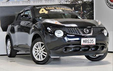 2010 Nissan Juke 15 RX POPULAR Test Drive Form