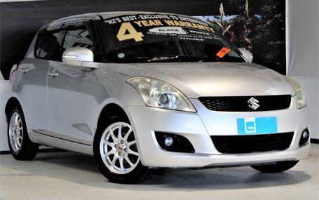 2010 Suzuki Swift RS POPULAR HATCH Test Drive Form