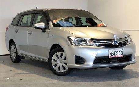 2014 Toyota Corolla HYBRID FIELDER WAGON Test Drive Form