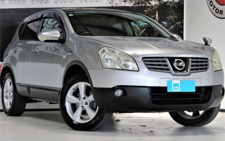 2009 Nissan Dualis CROSSOVER SUV Test Drive Form