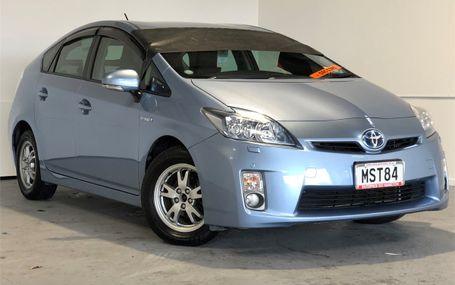 2011 Toyota Prius S HYBRID 74,000 KMS Test Drive Form