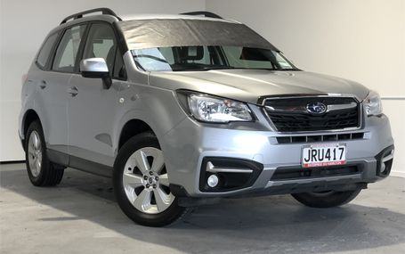 2016 Subaru Forester 4WD 2.5 WAGON Test Drive Form