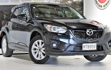 2012 Mazda CX-5 XD ECONOMY AND POWER Test Drive Form