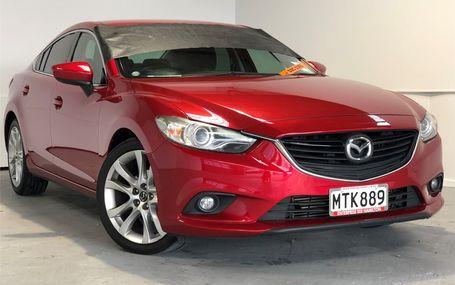 2013 Mazda Atenza XD MANUAL Test Drive Form