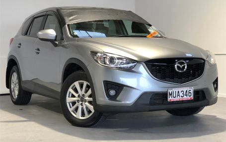 2012 Mazda CX-5 XD POWER AND ECONOMY Test Drive Form