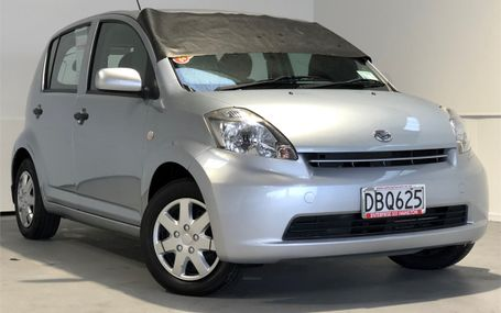 2005 Daihatsu Sirion 1.3P HATCH 4A Test Drive Form