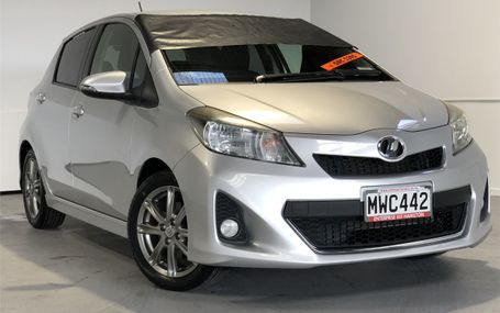 2011 Toyota Vitz RS 51,000 KMS Test Drive Form