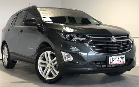 2018 Holden Equinox LTZ LESS THAN 10,000 KMS Test Drive Form