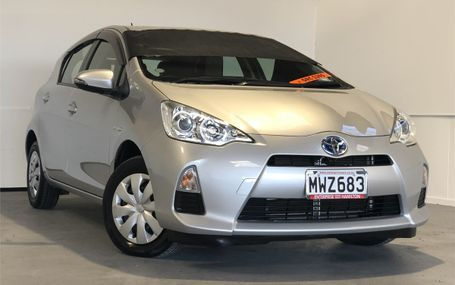 2014 Toyota Aqua L HYBRID GREAT ON GAS Test Drive Form