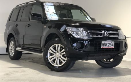 2014 Mitsubishi Pajero 3.2D GLS 7 SEATER NZ NEW Test Drive Form