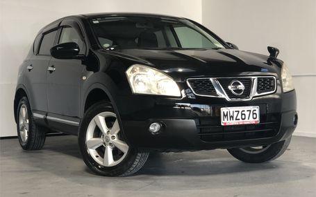 2011 Nissan Dualis 20G GRADE 4 JAPAN Test Drive Form