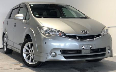 2009 Toyota Wish 2.0Z 6 SEATER Test Drive Form