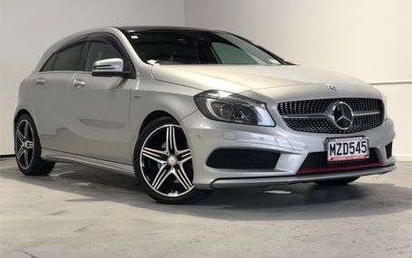 2013 Mercedes-Benz A 250 SPORT 44,000 KMS Test Drive Form