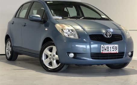 2007 Toyota Yaris 1.5 HATCH NZ NEW Test Drive Form