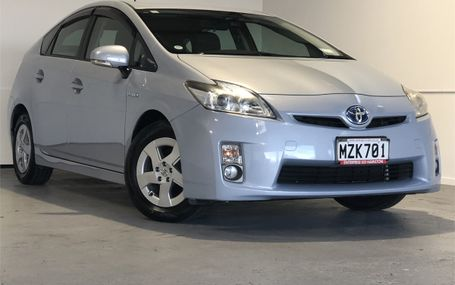 2010 Toyota Prius S HYBRID 32,000 KMS Test Drive Form