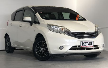 2014 Nissan Note DIG-S SAFETY BRAKE PACKAGE Test Drive Form
