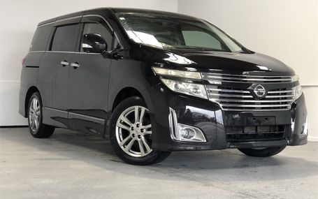2011 Nissan Elgrand 350 HIGHWAY STAR Test Drive Form