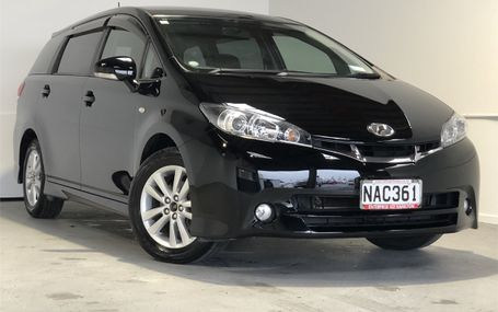 2009 Toyota Wish 1.8S PADDLE SHIFT Test Drive Form