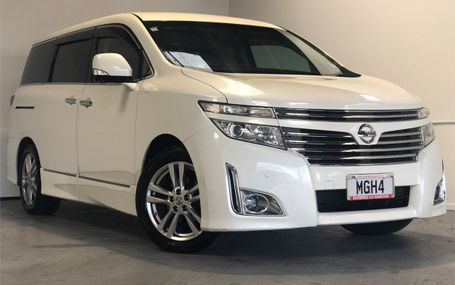 2010 Nissan Elgrand HIGHWAY STAR Test Drive Form