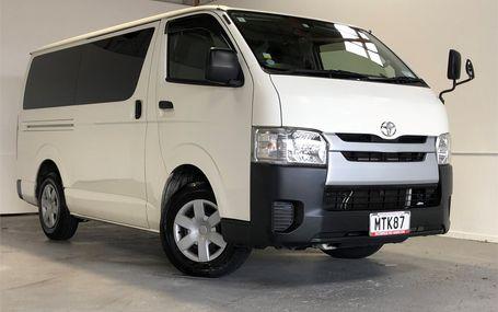 2014 Toyota Hiace REGIUS ACE Test Drive Form