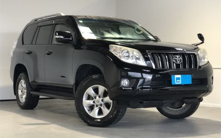 2012 Toyota Land Cruiser TX PRADO Test Drive Form