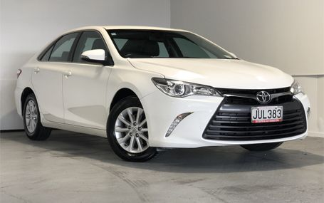 2016 Toyota Camry GL 2.5 5 STAR SAFETY Test Drive Form
