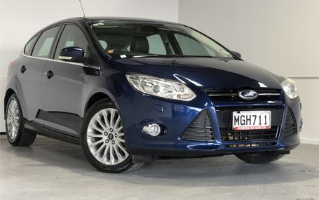 2014 Ford Focus TITANIUM 62,000 KMS Test Drive Form