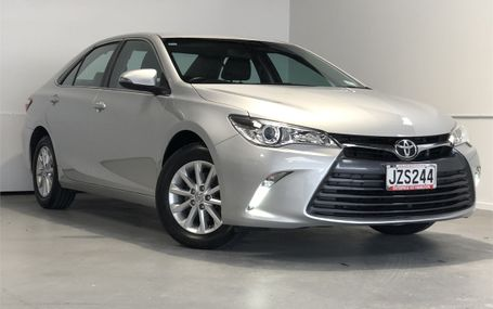 2016 Toyota Camry GL .56 63,000 KMS Test Drive Form