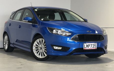2018 Ford Focus SPORT 25,000 KMS Test Drive Form