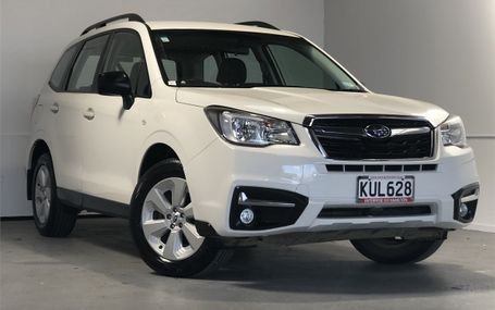 2017 Subaru Forester 2.5 4WD NZ NEW Test Drive Form