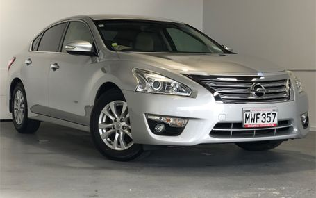 2014 Nissan Teana BIG FAMILY SEDAN Test Drive Form