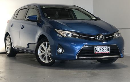 2013 Toyota Auris RS S PACKAGE Test Drive Form