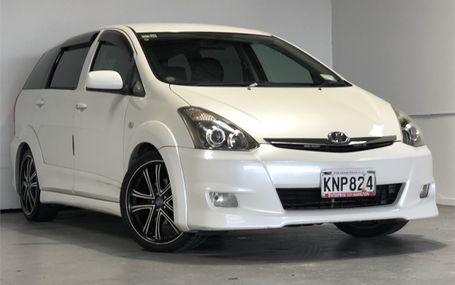 2005 Toyota Wish 6 SEATER Test Drive Form