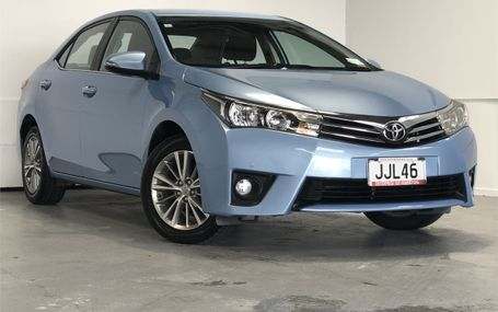 2015 Toyota Corolla GLX 1.8 NZ NEW Test Drive Form