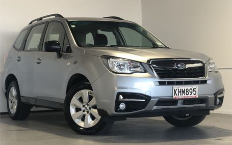 2017 Subaru Forester I 2.5 4WD WAGON Test Drive Form