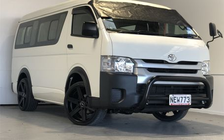2015 Toyota Hiace 10 STR 4WD - LOW KS Test Drive Form