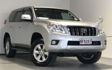 2010 Toyota Land Cruiser TX 63,000 KMS Test Drive Form