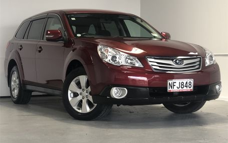 2009 Subaru Outback 4WD 8 AIRBAGS Test Drive Form