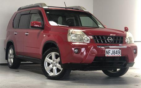 2009 Nissan X-Trail 4WD HYPER ROOF Test Drive Form