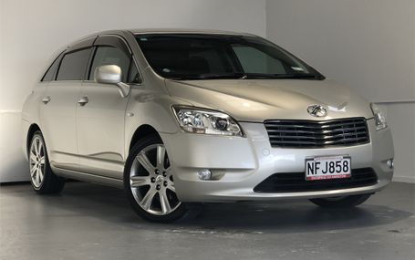 2007 Toyota Mark X Zio 6 SEATER Test Drive Form